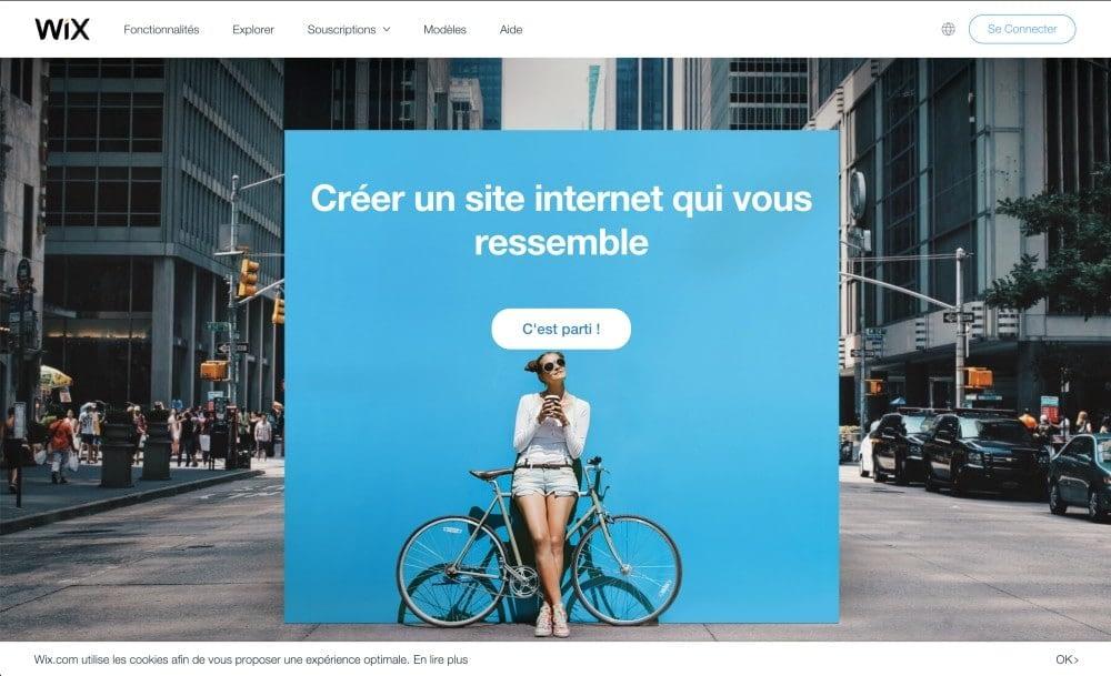 CMS Propriétaire - Wix site internet
